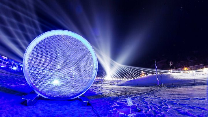 Claypaky Bringt Swarovski Kristallwelten Zum Strahlen Lichtfestival War Sehr Erfolgreich Lightsoundjournal De